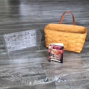 Longaberger Medium Key Basket #11100 ©️1998 🧺😍
